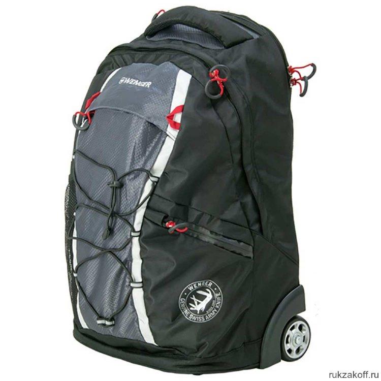 d49f85488156 Рюкзак на колесах Wenger на колесах 3053204461 черный купить по цене ...