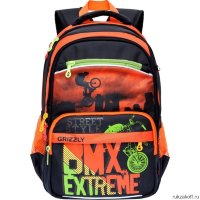Школьный рюкзак Grizzly Bmx Extreme Orange Rb-732-3