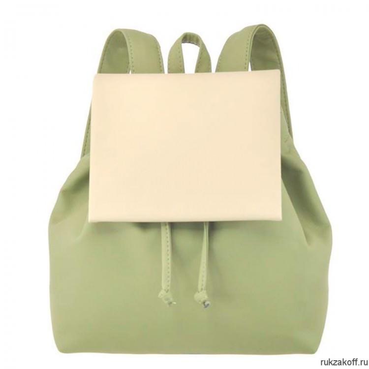 45ae077b6968 Женский рюкзак Asgard Р-5281 Оливковый - Бежевый купить по цене 2 ...