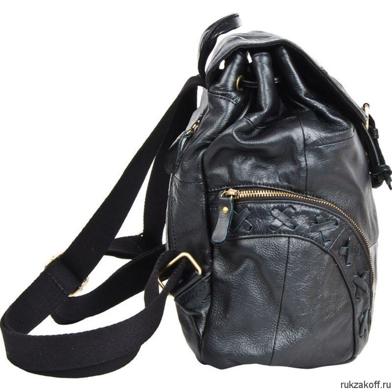 b2a8165ec009 Женский рюкзак Pola 0303 черный купить в Екатеринбурге по низкой ...