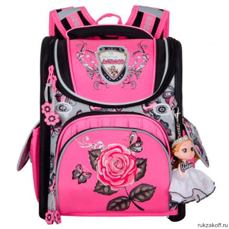 0e055c6613e1 Школьный ранец Across Rose ACR19-195-09 купить по цене 3 900 руб. в ...