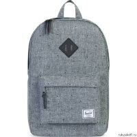 Рюкзак HERSCHEL HERITAGE MID-VOLUME SCATTERED RAVEN CROSSHATCH