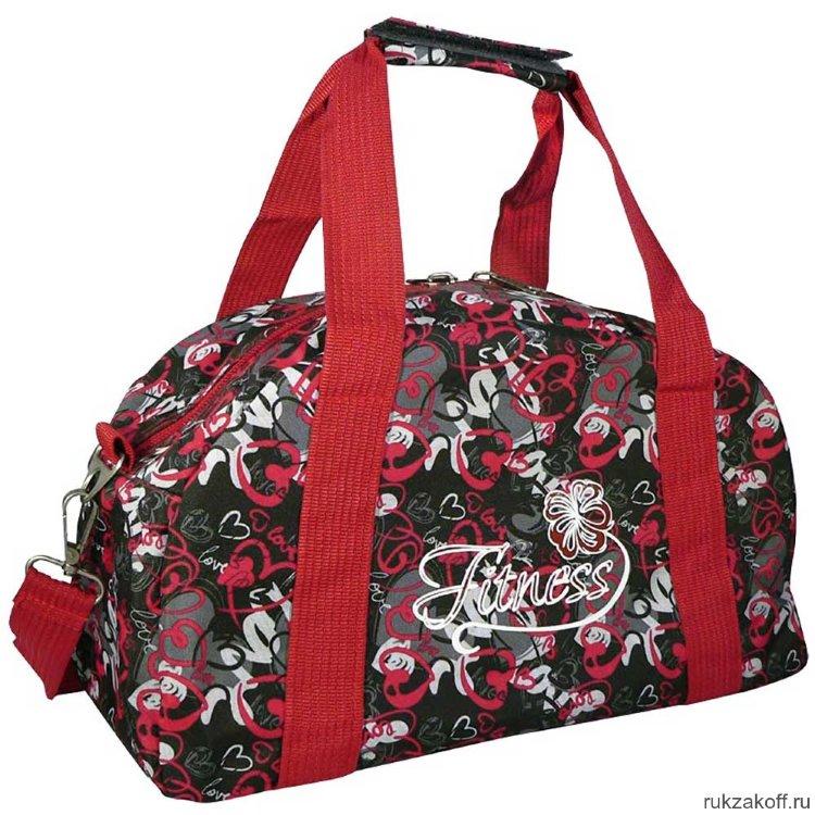 ed3f6283d813 Спортивная сумка Polar 5999 (сердечки) купить по цене 1 386 руб. в ...