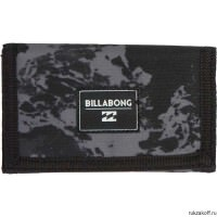 Кошелек BILLABONG ATOM WALLET BLACK WASH