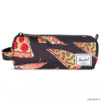 Пенал Herschel Settlement Case Blk Pizza