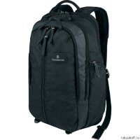 Мужской городской рюкзак Victorinox Altmont 3.0 Vertical-Zip Laptop Backpack Black