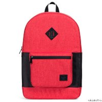 Рюкзак HERSCHEL RUSKIN Barbados Cherry Crosshatch/Black