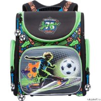Школьный ранец Grizzly Soccer League Black RA-770-3