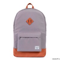 РЮКЗАК Herschel Heritage GREY/TAN SYNTHETIC LEATHER