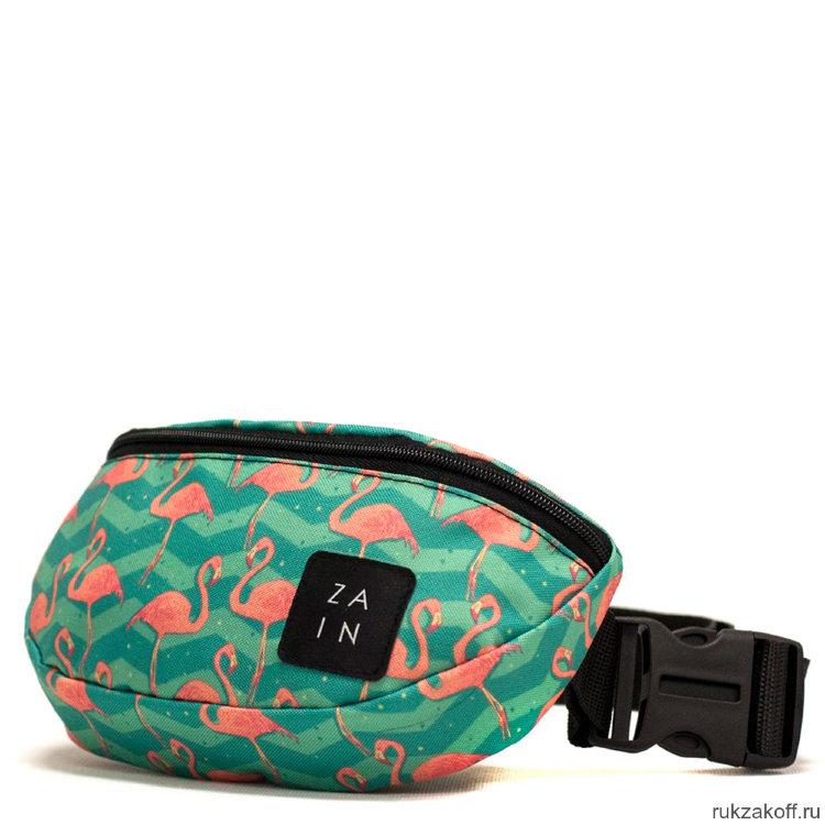 bf1e39fdbc42 Поясная сумка Zain Printed с фламинго купить по цене 990 руб. в ...