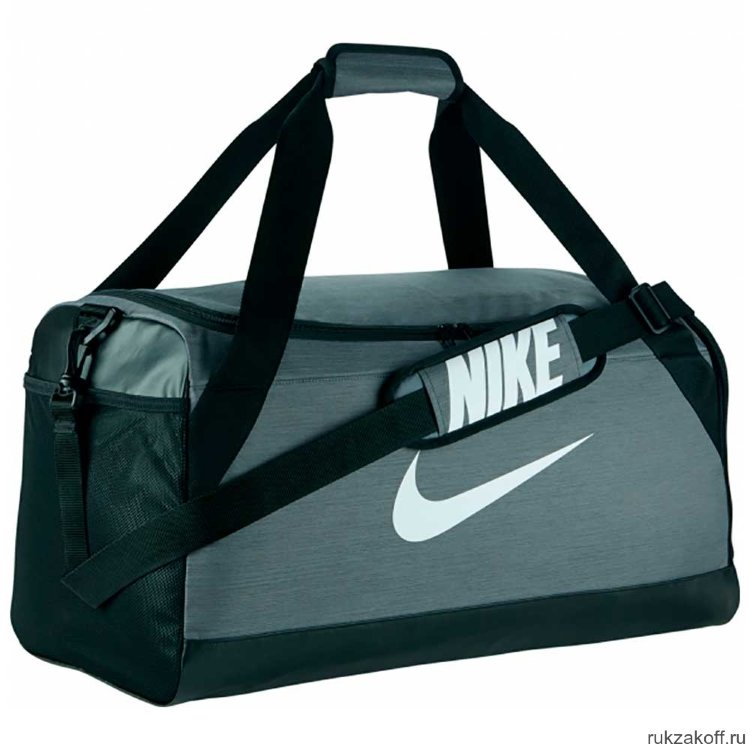 Сумка Nike Brasilia (Medium) Training Duffel Bag Серый купить по ... fa161b33b66b5