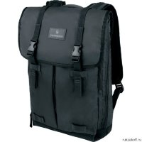 Дорожный мужской рюкзак Victorinox Altmont 3.0 Flapover Laptop Backpack Black