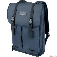 Дорожный мужской рюкзак Victorinox Altmont 3.0 Flapover Laptop Backpack Blue