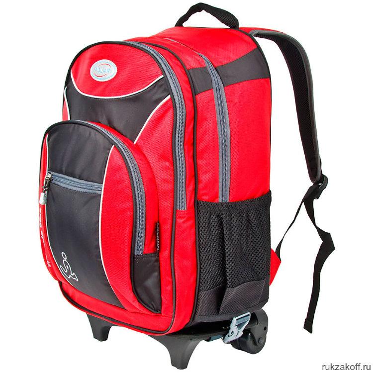 76a037cacb7f Школьный рюкзак на колесах Polar П382 Красный купить по цене 5 728 ...