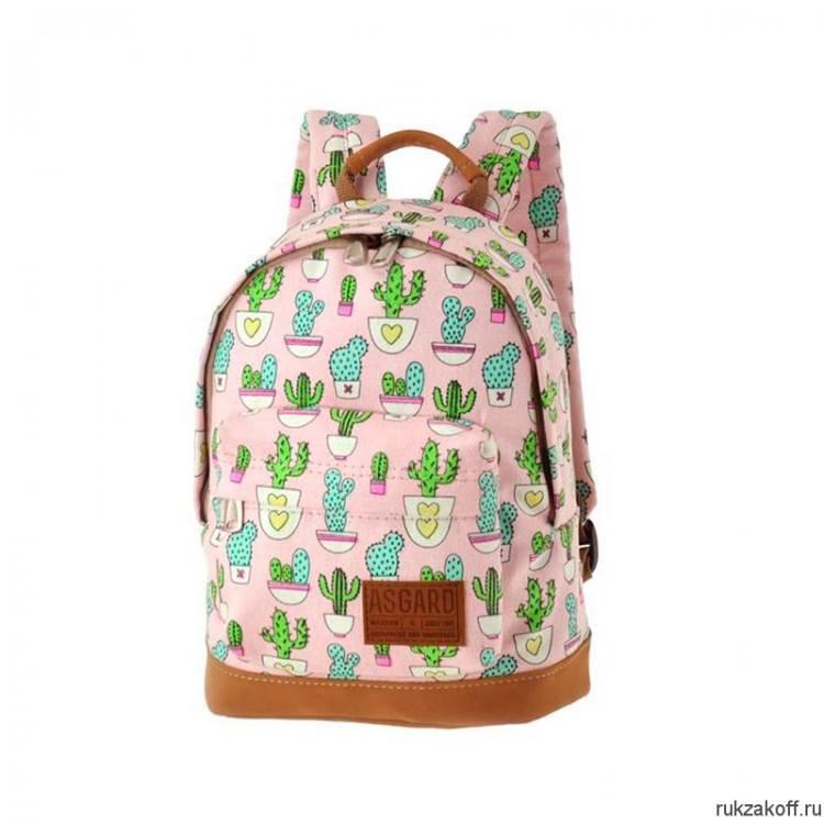2859a126e373 Детский рюкзак Asgard Кактусы Р-5424 купить по цене 2 000 руб. в ...