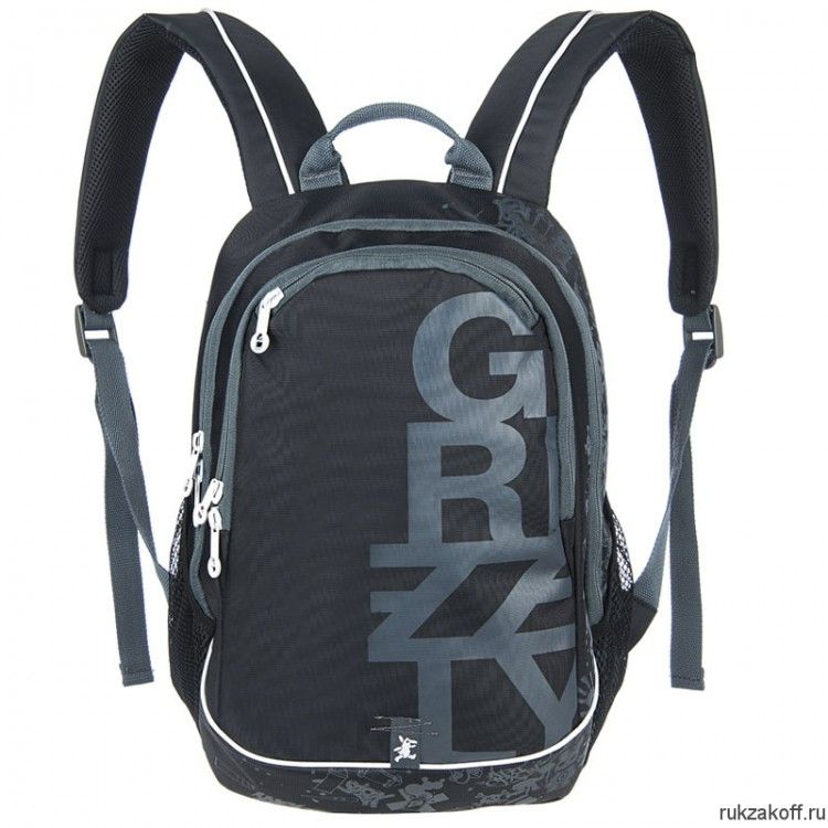 Рюкзак Grizzly Young Gray Ru-400-1