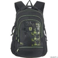 Рюкзак Grizzly Outline Black-green RU-722-2