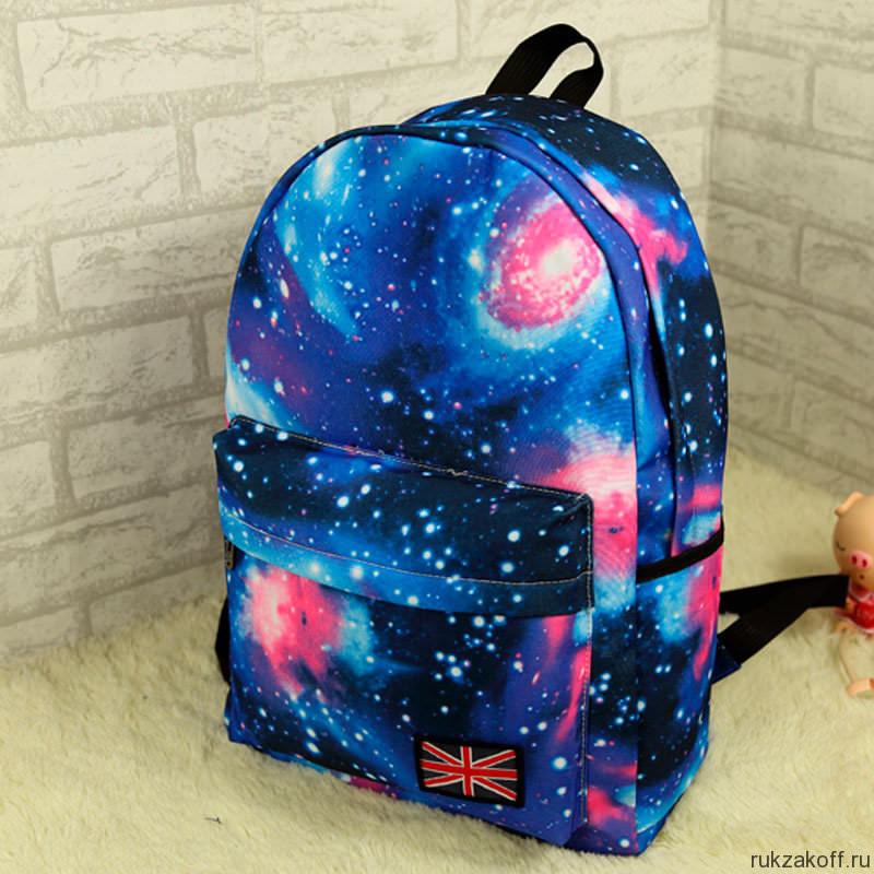 Рюкзак молодежный космическая феерия hatber рюкзак angry birds легкий nrk 00197