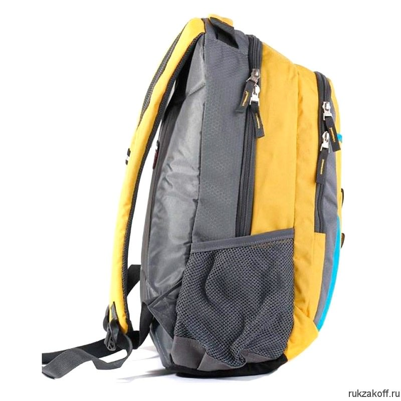 Рюкзак WENGER 3162244408 Yellow-Blue-Grey