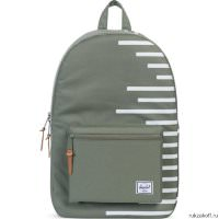 Рюкзак Herschel Settlement Deep Lichen Green Stripe