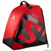 Сумка Salomon ORIGINAL BOOTBAG Barbados Cherry/Black