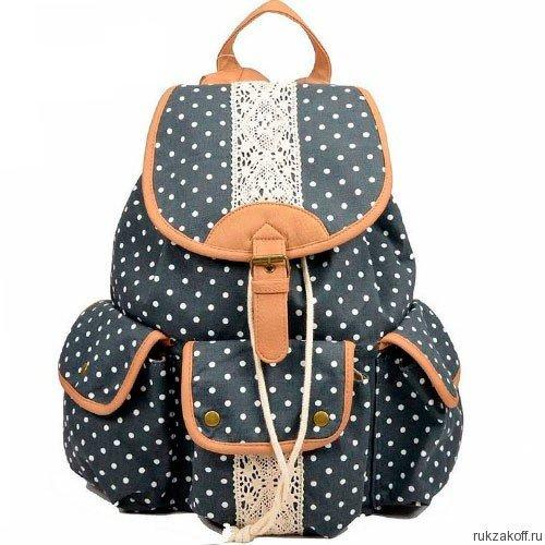 7955e5ba714d Городской рюкзак Dark Blue Dots купить по цене 2 290 руб. в интернет ...