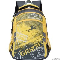 Рюкзак Grizzly Flight Yellow Rb-733-1
