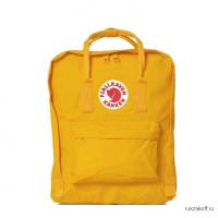 Рюкзак Fjallraven Kanken Standart Warm Yellow