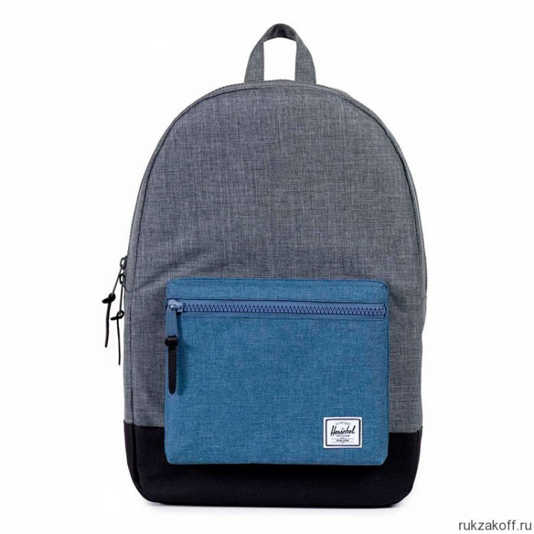 Рюкзак Herschel Settlement Charcoal Crosshatch/Navy Crosshatch/Black/Black Rubber