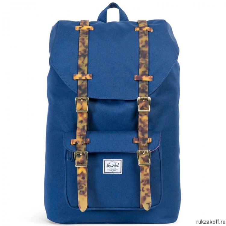 Рюкзак HERSCHEL LITTLE AMERICA TWILIGHT BLUE/TORTOISE SHELL RUBBER