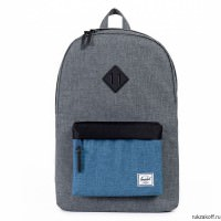 Рюкзак Herschel Heritage Charcoal Crosshatch/Navy Crosshatch/Black/Rubber