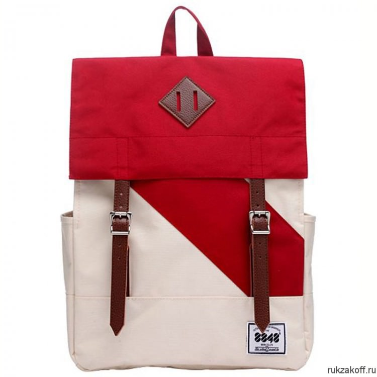 Рюкзак 8848 City White/Red
