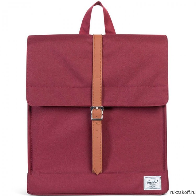 Рюкзак Herschel City WINDSOR WINE/TAN