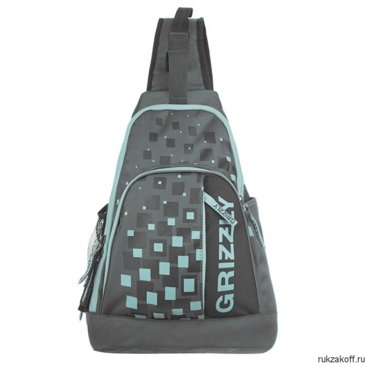 Рюкзак Grizzly OneStrap Gray Ru-510-2