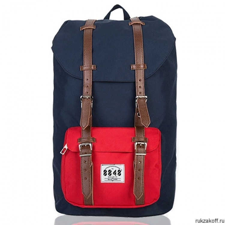 Рюкзак 8848 Little Taupe Navy/Red