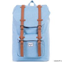 Рюкзак HERSCHEL LITTLE AMERICA MID-VOLUME CHAMBRAY CROSSHATCH/TAN