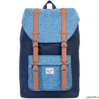 Рюкзак HERSCHEL LITTLE AMERICA MID-VOLUME PEACOAT/LIMOGES CROSSHATCH