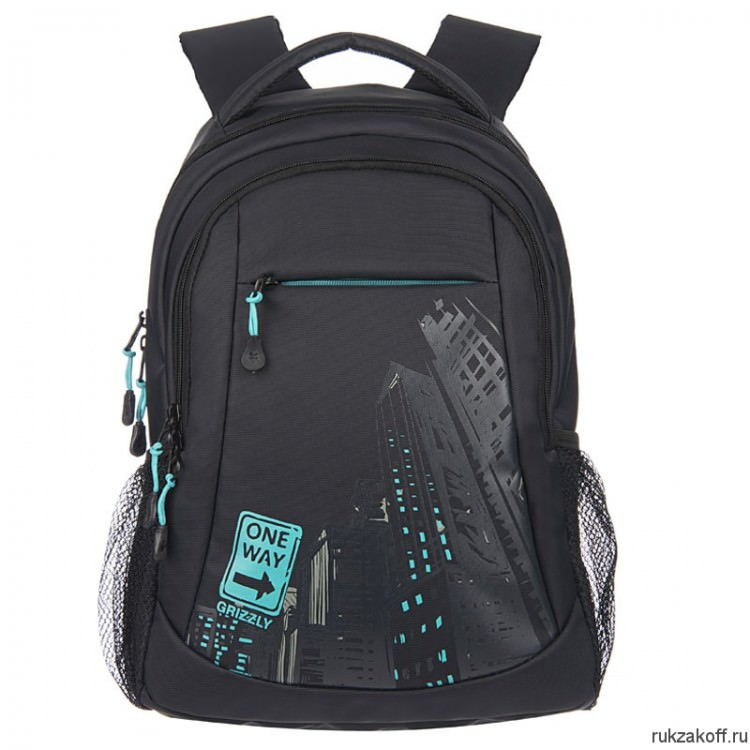 Рюкзак Grizzly OneWay Turquoise Ru-518-4