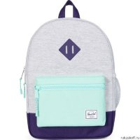 РЮКЗАК Herschel HERITAGE YOUTH Light Grey Crosshatch