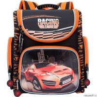 Школьный ранец Grizzly Racing League Black Ra-770-7
