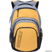 Рюкзак Grizzly Campus Yellow Ru-704-1