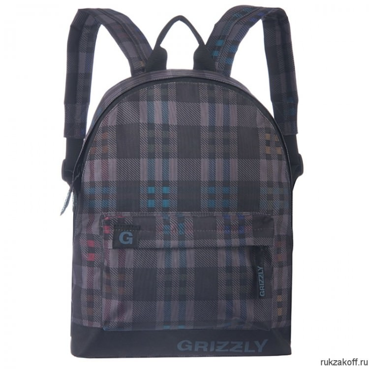 Рюкзак Grizzly SimpleG Gray/Blue Ru-600-1