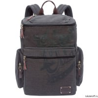 Рюкзак Grizzly Canvas Black Ru-702-1