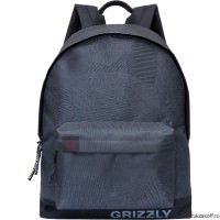 Рюкзак Grizzly Dark Gray Ru-709-3