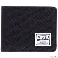 Кошелек Herschel Hank BLACK/BLACK SYNTHETIC LEATHER