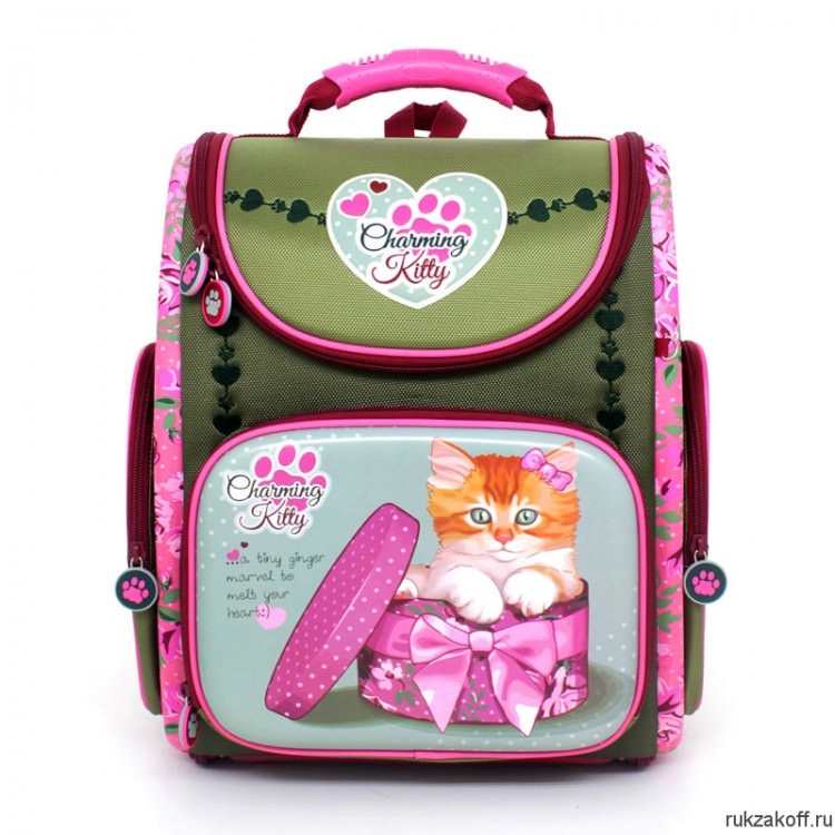 Школьный ранец Hummingbird Charming Kitty K97