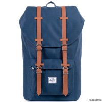 Рюкзак HERSCHEL LITTLE AMERICA MID-VOLUME Navy/Tan