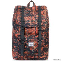Рюкзак HERSCHEL LITTLE AMERICA MID-VOLUME CENTURY/BLACK RUBBER