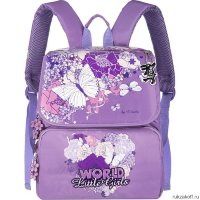 Школьный ранец Grizzly Pretty Pattern Purple Ra-545-1