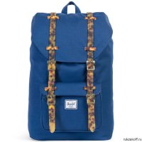 Рюкзак HERSCHEL LITTLE AMERICA MID-VOLUME TWILIGHT BLUE/TORTOISE SHELL